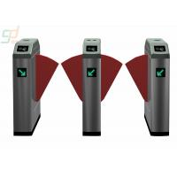 Metro Smart  Red Wing Four Channels  Traffic Turnstiles With IR Sensor Control Manufactures
