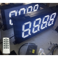 Buy cheap Aluminum Alloy IP65 8 Inch 220V Gas Price Light Display from wholesalers