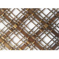 Popular Cabinets Decorative Wire Mesh Made In Stainless Steel Flat Wire Manufactures