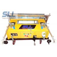 Vertical Type Cement Plastering Machine , Construction Plastering Equipment Low Noise Manufactures