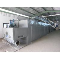Large Scale Infrared Conveyor Dryer , Adjustable Moving Speed Conveyor Belt Oven Manufactures