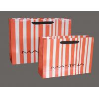 Customized Colorful 200gsm Die Cut Handle Paper Gift Shopping Bag With Gloss Lamination Manufactures