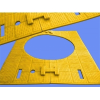 Anti-Slip Or Anti-Skid Mat And Anti-skid Safety Pad For Drilling Rig Rotary Table Manufactures