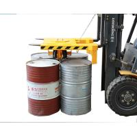 Buy cheap Forklift Clamp Attachment Lifting 500Kg*4 Drums Once for Port Warehouse from wholesalers