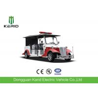 8 Person Battery Powered Electric Fire Truck With 4 Wheel Drive Fire Protection Manufactures