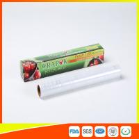 Plastic Stretch PE Cling Film Wrap On Roll Food Grade With Paper Box Manufactures