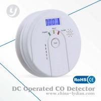 DC 9V Battery CO Alarm Detector With Electrochemistry Sensor CE Approved Manufactures