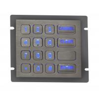 Backlight Metal Keypad With Ps / 2 Interface , Rear Panel Mounting Manufactures