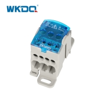 Small 80A Power Distribution Terminal Monopolar DIN Mount Junction Box Manufactures