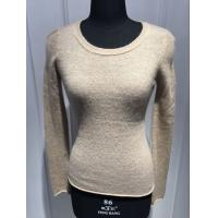 Slim Fitting Womens Cashmere Sweaters Anti Shrink OEM / ODM Available Manufactures