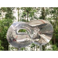 Outdoor Metal Garden Stainless Steel Sculpture Mirror Polished Surface Manufactures