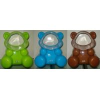 Orange / Green bear shaped Portable usb table fan without blade for promotion gift Manufactures