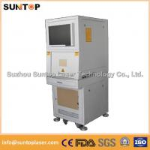 50W Europe standard fiber laser engraving machine fiber laser marking system Manufactures