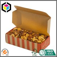 Quality Origin Brown Kraft Paper Color Printing Paper Food Grade Packaging Box for sale