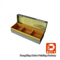 Quality Hard Sustainable Cardboard Packaging Boxes Matt Lamination For Tea Packaging for sale