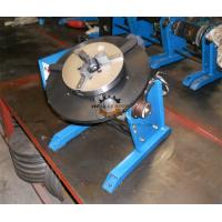 Quality Pipe Round Small Welding Table Hand Wheel With Foot Pedal 300kg 600mm for sale