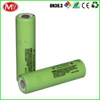 Japan Brand CGR18650CG Lithium Battery Cells High Rate 3.7 Volt Cylinder Manufactures