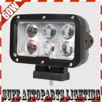7INCH 60W CREE LED WORK LIGHT FLOOD LIGHT OFFROAD MACHINERY 4WD ATV SUV LED DRIING LIGHT Manufactures