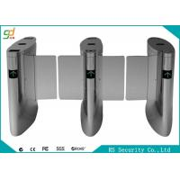 Shopping Mall Luxury Automatic Systems Turnstiles Human Voice Warning , Right Passing Manufactures