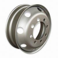 17.5mm Truck Steel Wheel with 202 or 221mm Center Hole and 6pcs Bolt Holes Manufactures