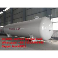 hot sale 60,000L horizontal stationary surface lpg gas storage tank, bulk surface propane gas storage tank for sale Manufactures