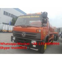 Buy cheap HOT SALE! customized dongfeng 4*2 RHD 10,000Liters water sprinkling truck for from wholesalers