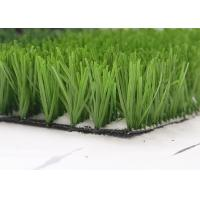 Monofil PE Yarn Green Artificial Grass manufacturer For Sports , Football Field Artificial Turf Manufactures