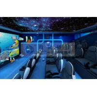 Special Decoration 5D Movie Theater with Customized Movies for Theme Park Manufactures
