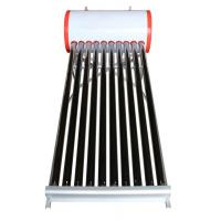 100liter non pressure evacuated tube solar water heater Manufactures