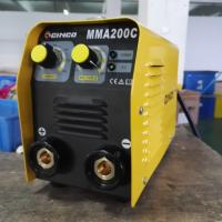 High Performance Electric MMA Welding Machine Small Volume Light Steel Materials Manufactures
