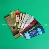OEM coffee bags, side-sealed, back-sealed, quad-sealed shape, with valve Manufactures