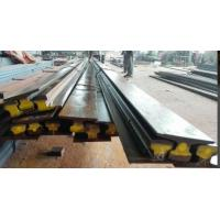 A75 Type Safety Steel Crane Rail For Overhead Crane , 75 mm Head Width 45 mm Web Thick Manufactures