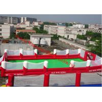 Quality inflatable football pitch inflatable football field inflatable football field for sale for sale