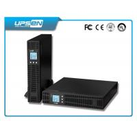 High Frequency DC AC Inverter LCD Display Rack Mount With Battery Pack Manufactures