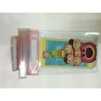 Clear PVC Waterproof  Phone Bag Plastic Printing Services With Offset CMYK Printing Manufactures