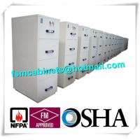 Fireproof Lockable Filing Cabinet JIS Standard For Books / Customer Information / Contracts Manufactures