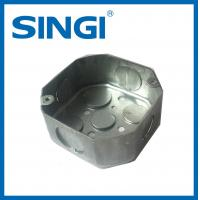 Exterior outlet Metal Electrical Junction Boxes Pre - galvanized steel
