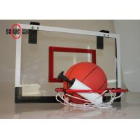 Indoor Sport Free Standing Basketball Hoop Lightweight With A Mini Basket Ball Manufactures