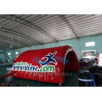 Baseball Inflatable Entrance Arch , PVC Tarpaulin Inflatable Sports Tunnel Manufactures