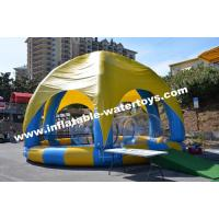 Inflatable Swimming Water Pool with 6 legs mobileTent cover and protective net Manufactures