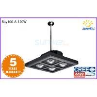 China 120w cree led high bay lights For City Gym Sport Court , led warehouse light on sale