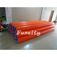 Orange Color Inflatable Water Toys Waterproof Airtight Floating Water Buoys for Water Park Manufactures