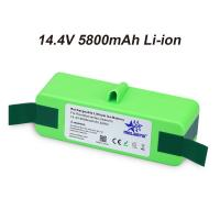 14.4V 5800mAh Li-iON iRobot Vacuum Cleaner replacement Battery for Roomba 500 600 700 800 Series 510 531 532 620 650 770 Manufactures