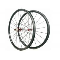 30MM*25MM Carbon Road Wheels  Dimple Brake Surface 700C Tubuless / Clincher Manufactures