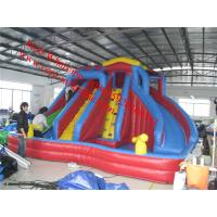 inflatable bouncy castle with water slide Manufactures