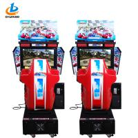 China Manual Racing Arcade Machine /  Car Driving Arcade Machine Three Game Modes on sale