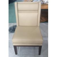 wooden frame fabric/PU dining chair DC-0005 Manufactures