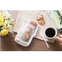 Frosted Customer Jar Design Stand Up Ziplock Bags Food Kraft Zipper Pouch Bags Manufactures