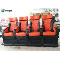 Various Complicated Special Effect 4D Cinema System With 4 Seats / 6 Seats Manufactures