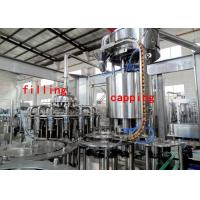 China 6000BPH Apple Juice Filling Machine Monoblock 3 In 1 Filling Machine 3000KG on sale